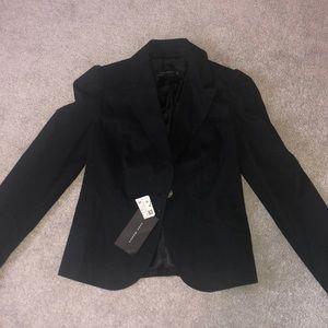 Zara blazer jacket blazer with ruffle. NWT